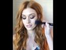 Kat_McNamara getting her make up done 😍 Stunning! Via @missjobaker IG