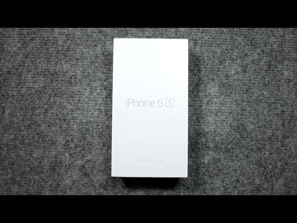 ASMR Unboxing iPhone 6s refurbished