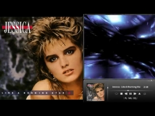 Jessica - Like A Burning Star (Eurodisco 80's). mp4