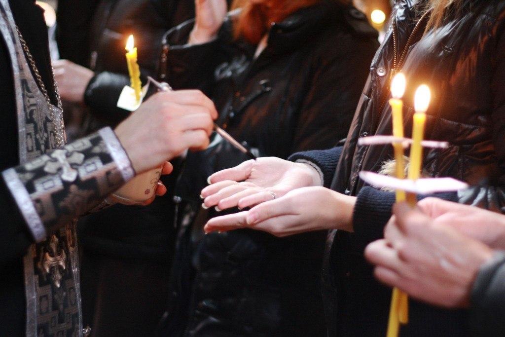 Соборование в Успенском храме!