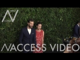 Jamie Dornan and Amelia Warner at Charles Finch and Chanel Pre-Oscar Awards Dinner