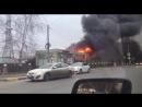 Пожар в Химках