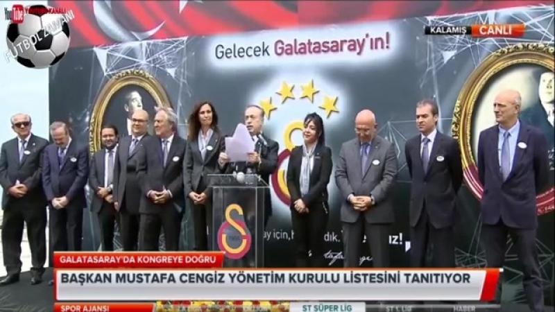Mustafa Cengiz Şampiyonluk Açıklamaları ve Yönetim Kurulu Listesi 20 Mayıs 2018