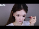 Korean makeup vs. Japanese makeup 한국인 vs. 일본인 메이크업💄(feat.앞머리 같이 잘라요😘) I Daiya다이야黛雅