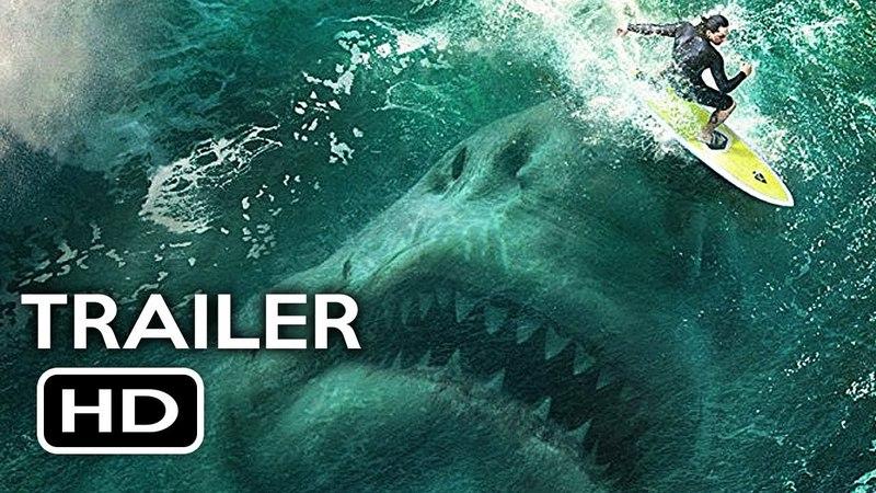 The Meg Official Trailer 1 (2018) Jason Statham, Ruby Rose Megalodon Shark Movie HD