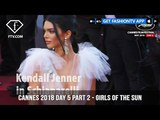Kendall Jenner on Girls Of The Sun Red Carpet at Cannes Film Festival 2018 Day 5 FashionTV FTV