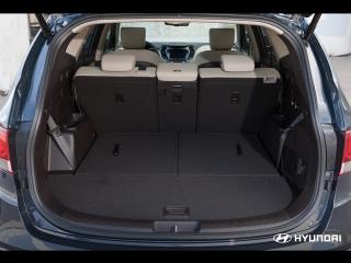 Багажник Hyundai Grand Santa Fe.