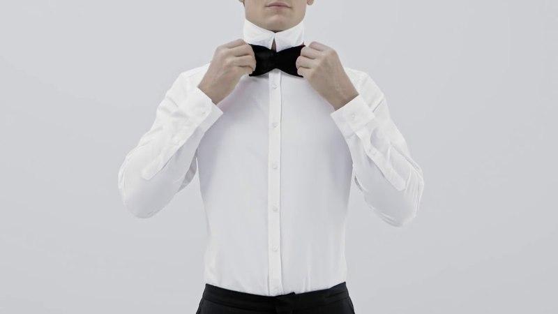 Как завязать галстук бабочку на шее: пошаговая инструкция
