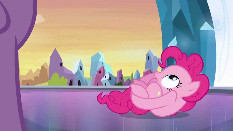 [SPOILERS] Pinkie Pie - *curls up into a ball* (Transformers reference)
