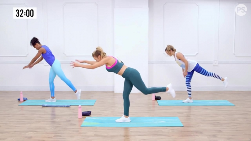 45 Minute Full Body Sculpting Workout With Love Sweat Fitness