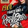 19 ЯНВАРЯ: Party like a rockstar в Shishas Bar!