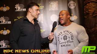 7-Time Mr.Olympia Phil Heath Interviewed By NPC NEWS ONLINE EDITOR in CHIEF Frank Sepe