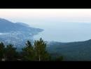 Южный берег Крыма. Закат на Ай-Петри 11 сентября 2017 года