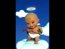Живет мой новый друг зовут Ангел хранитель всех целует и дарит цветы не обижайте его