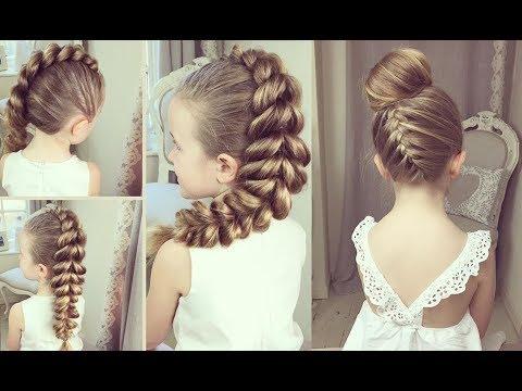 Tết tóc xinh   Kiểu tóc đẹp đơn giản - Tết tóc đẹp nhất thế giới