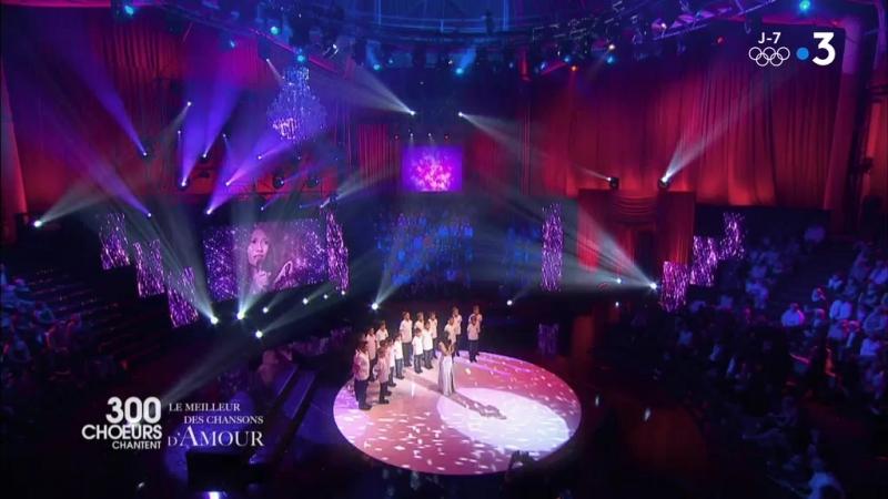 300 choeurs chantent le meilleur des chansons damour_France 3_02.02.2018