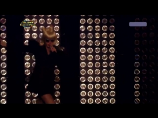 [110702] MBC SM Town Live in Paris - Poker Face + Single Ladies + Crazy in Love