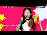 UNI+G's Team Red - Gee (Original Girls Generation) The Unit2018.01.04