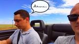 Покоряем столицу на Audi Cabriolet