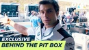 Bruno Spengler's pit box guide - DTM Exclusive