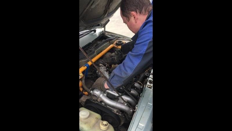 Тестирование мотора в процессе настройки