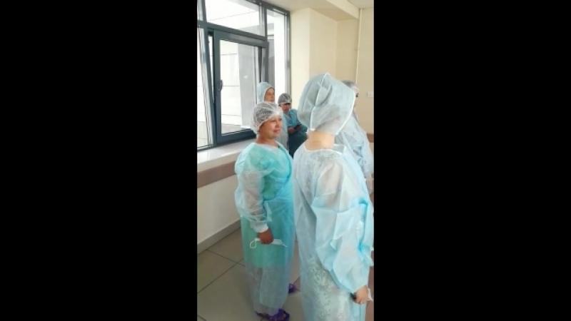 Отрывок из экскурсии в родильное отделение 1-го роддома г.Казани