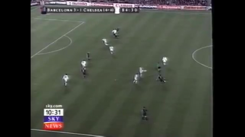 Барселона 5-1 Челси лч 1999-00 1-4 финала голы