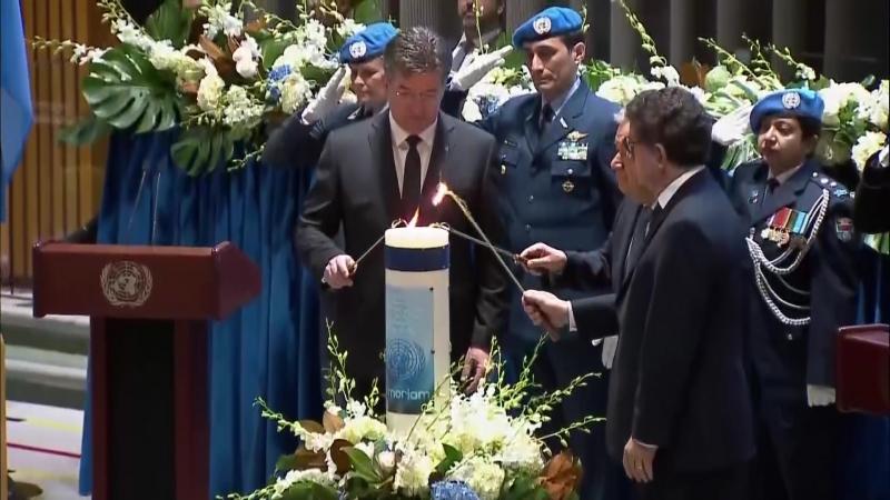 В ООН почтили память павших коллег
