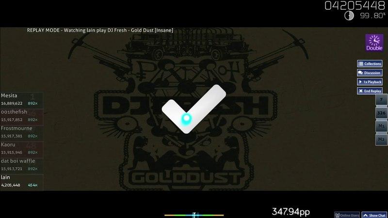 Lain (Aireu)   DJ Fresh - Gold Dust [Insane] DT   FC 99.90% 407pp