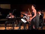 Ann Moss and The Hausmann Quartet String Quartet #2 Opus 10 (Arnold Schoenberg)