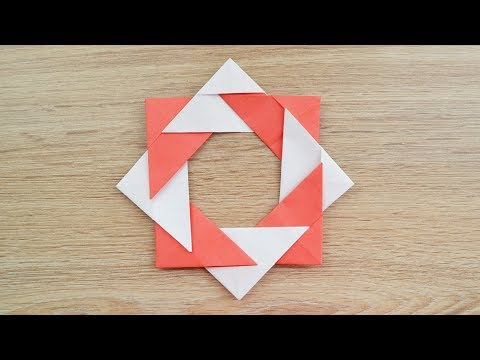 Decoration for room | How to make an Octahedron Craft | Modular ORIGAMI out of paper Tutorial DIY