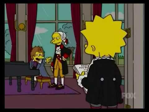 The Simpsons Nelson as Beethoven Ha Ha Ha Haaaa