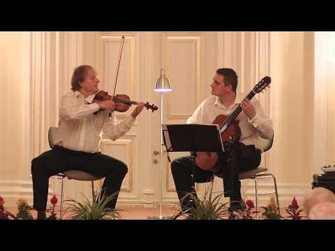 DUO PAGANINI Pablo de Sarasate - Romanza Andaluza Op. 22