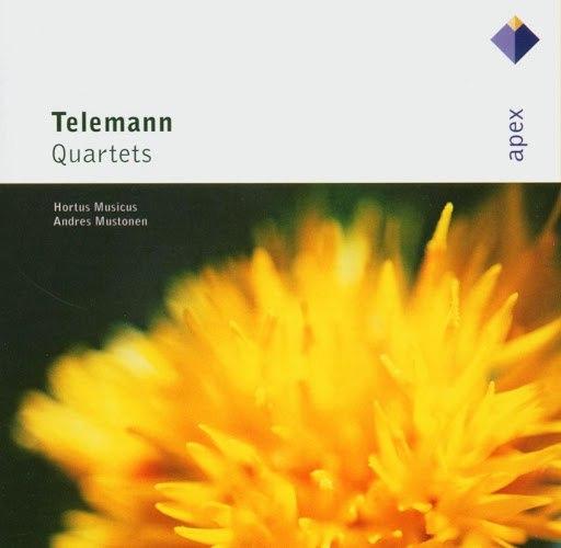 Apex альбом Apex: Telemann Quartets / Hortus Musicus