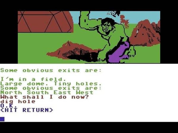 C64 Longplay [036] Questprobe 1 - The Incredible Hulk
