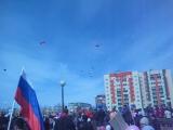запуск голубей в День Победы.