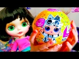 #Настя LOL и кукла Блайз Шарик LOL CONFETTI Nastushik Play Мультик про куклы лол Распаковка Кукол L