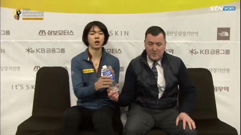 Junhwan Cha Korean Nationals 2018