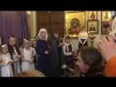 Праздник Рождества в Храме Святых Царственных Страстотерпцев Песня Светлый праздник Рождества
