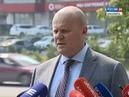 Брифинг первый заместитель главы Красноярска Владислав Логинов