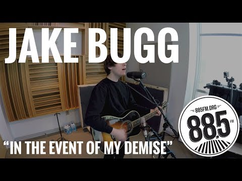 Jake Bugg || Live @ 885FM || In the Event of My Demise