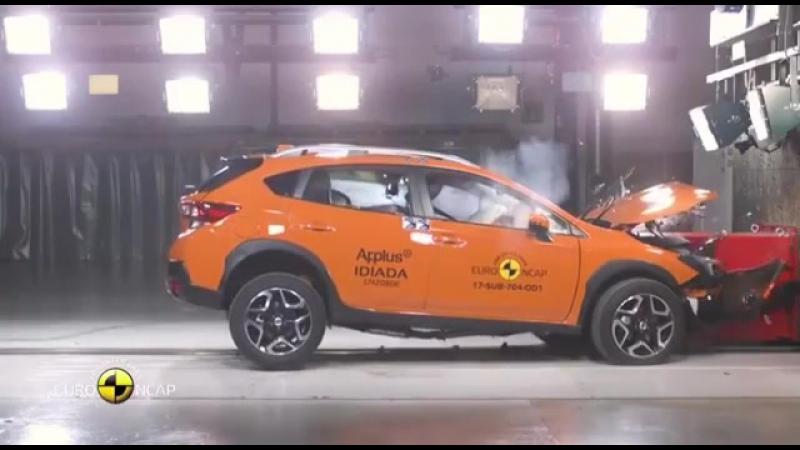 Краш - тест Subaru EuroNCAP