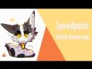 Sketch commission 3 SPEEDPAINT