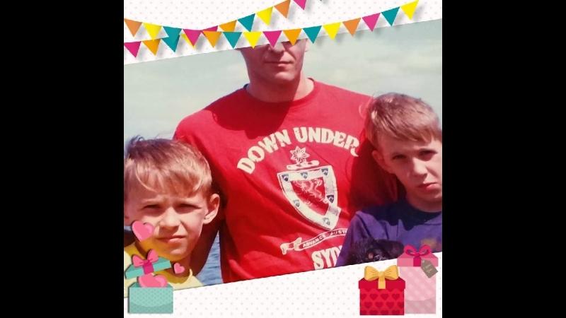 день рождения сыновей !