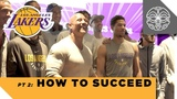 How to Succeed The Rocks Q&ampA with the Los Angeles Lakers - Part 2