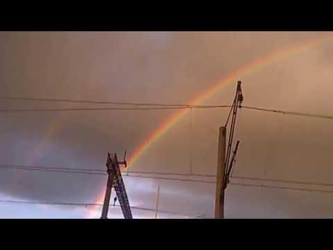 Савёлово. Красивейшая радуга.