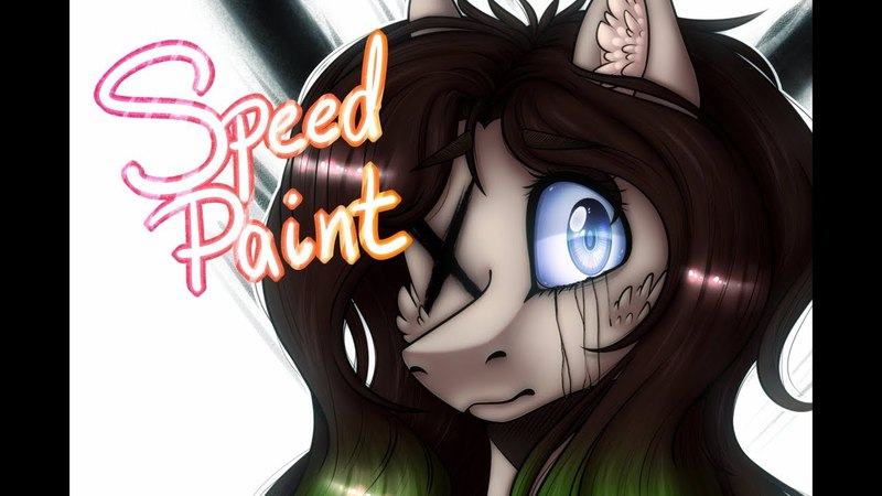 MLP speedpaint - Outlastien [Art Trade]
