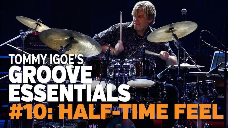 Tommy Igoe's Groove Essentials 10 Half time Rock Feel