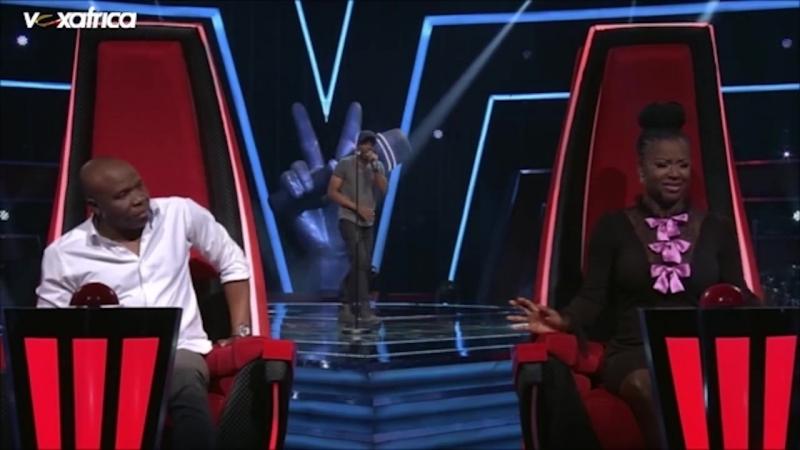 Jonny Ekwa chante Hello de Adèle aux auditions à laveugle - The Voice Afrique francophone 2016 (1) (1)