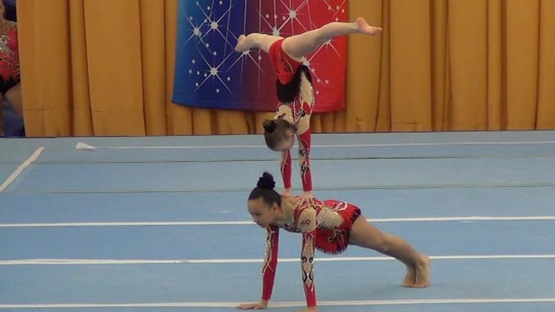 Всероссийские соревнования по спортивной акробатике